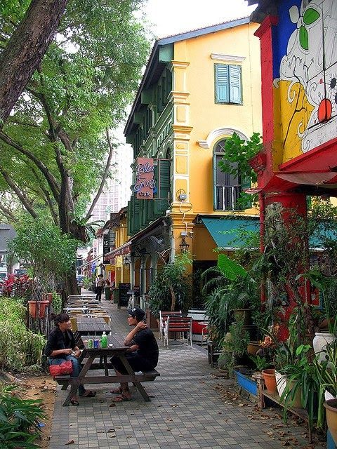 Blu Jaz Cafe, Bali Lane, Kampong Glam, Singapore. Visit the slowottawa.ca boards >> www.pinterest.com/slowottawa