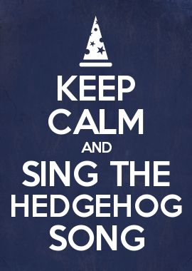 Nanny Ogg loves her hedgehog song!
