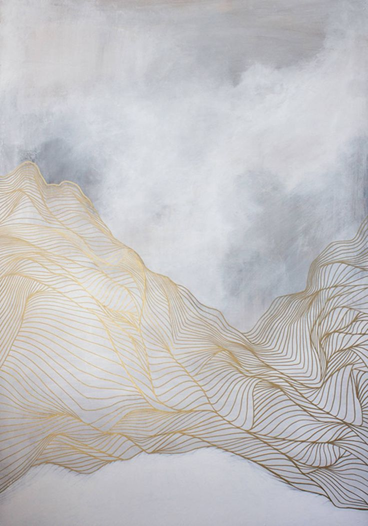 Ethereal Abstract Painting