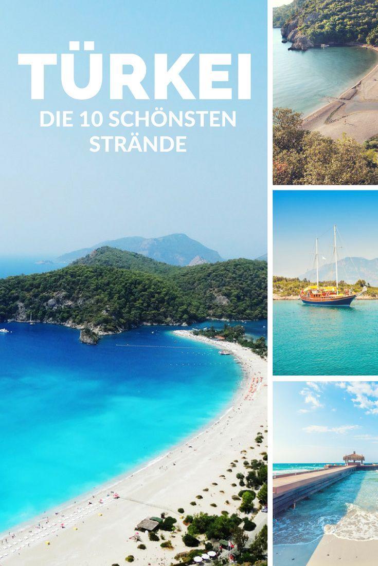 Die 10 Schonsten Strande Der Turkei Traumstrande Pinterest