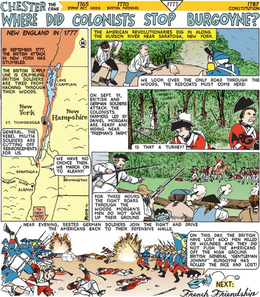 Best Revolution Images On Pinterest Teaching History - Battle of saratoga us maps