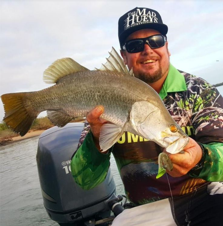 Brendan Lowe loves his Fat Swing lure from Keitech. http://www.akwamarine.com.au/brag-board