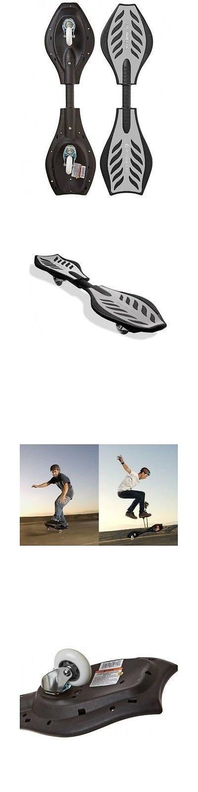 Other Skate- and Longboarding 16265: Caster Board Skateboard Wave Roller Razor Street Surf Snowboard Ripstik Silver -> BUY IT NOW ONLY: $69.99 on eBay!