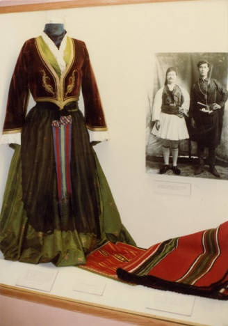 Greek traditional dress and costume; J. Willard Marriott Library, University of Utah