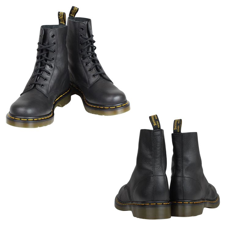 SneaK Online Shop | Rakuten Global Market: Dr. Martens Dr.Martens Pascal 8 hole boots PASCAL 8 EYE BOOT leather men's unisex lace-up boots R13512006 black [10 / 24 Add in stock] [regular]