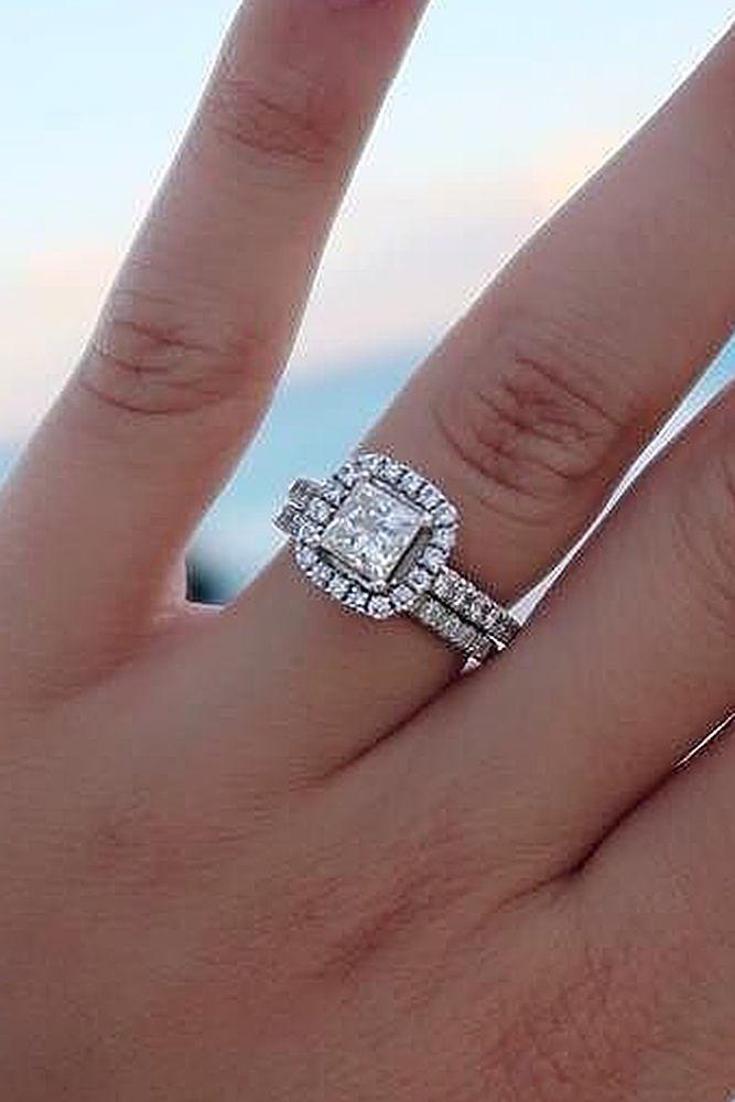 Bague De Fiançailles Tendance 2017 2018 24 Beautiful Wedding Ring Sets For Your Pri