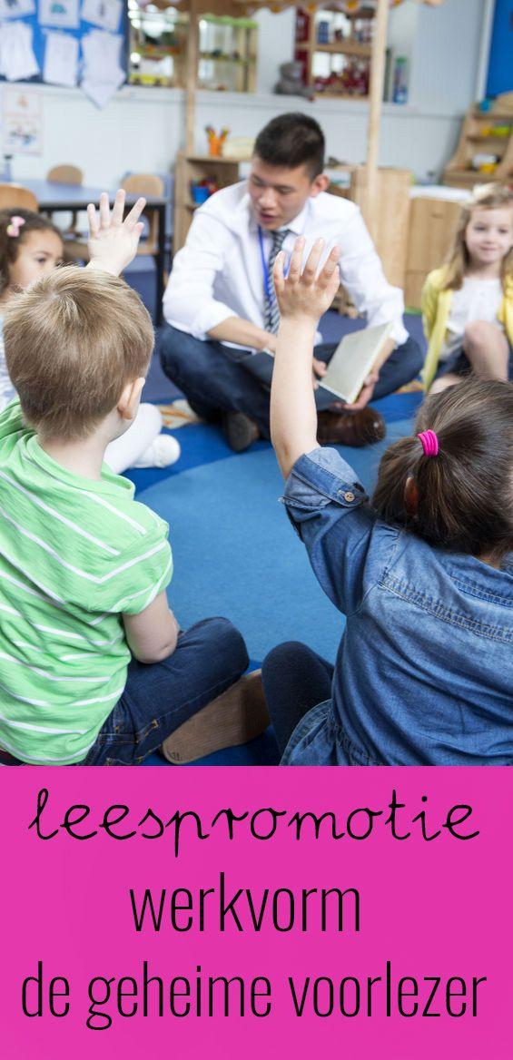 LEESPROMOTIE: DE GEHEIME VOORLEZER  Kinderen vinden het heerlijk om voorgelezen te worden. Om het lezen voor kinderen interessant te houden kun je gebruik maken van de werkvorm 'De Geheime Voorlezer'. Ouders en andere bekenden komen in de klas voorlezen en maken de kinderen enthousiast voor het lezen. Van te voren wordt niet bekend gemaakt wie er komt voorlezen. Aan de hand van vijf hints moet dit door de klas geraden worden. In de blog wil ik je er graag meer over vertellen.