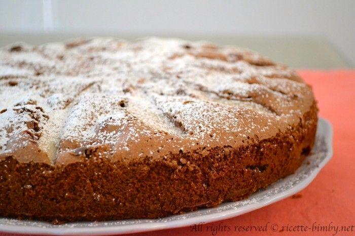 Torta Cioccolato e Pere di Montersino Bimby