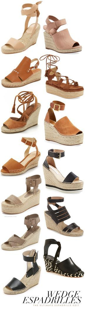 ultimate guide to wedge espadrille sandals!