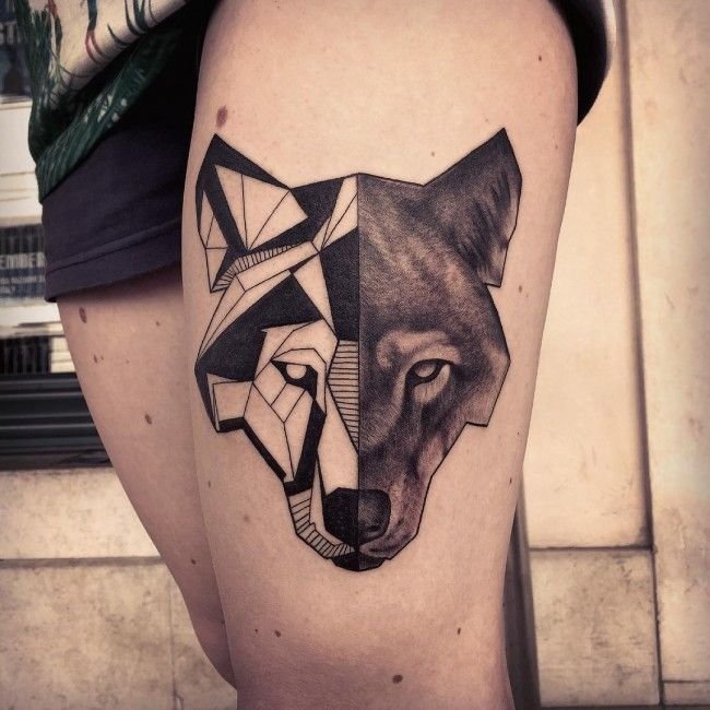 Top 150 Wolf Tattoos So Far This Year: Best 25+ Geometric Tattoo Meaning Ideas On Pinterest