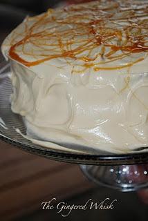 Butterbeer cake...