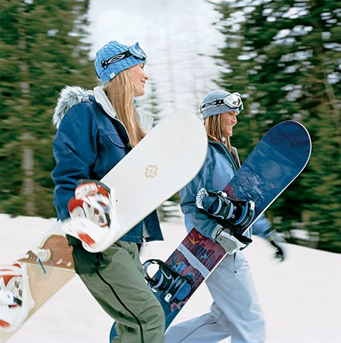 Get in Snowboarding Shape - Be ready for the slopes this season with these key strengthening moves and tips.