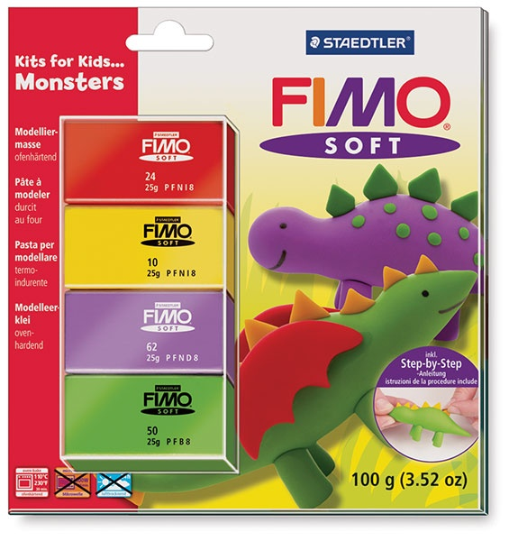 fimo soft clay instructions