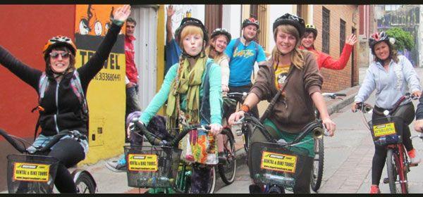 Anímate a conocer la ciudad en bicicleta y si aún no tienes la tuya te sugerimos algunos lugares donde te la prestan.