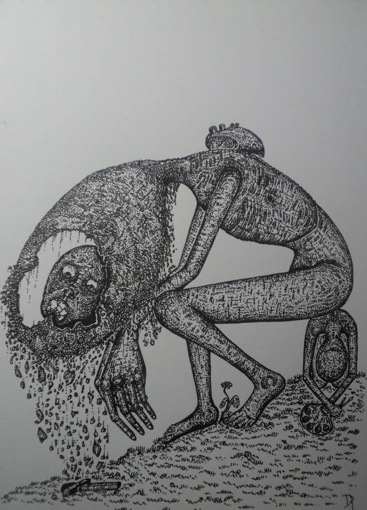 Artist's burden by ARTofTWINS