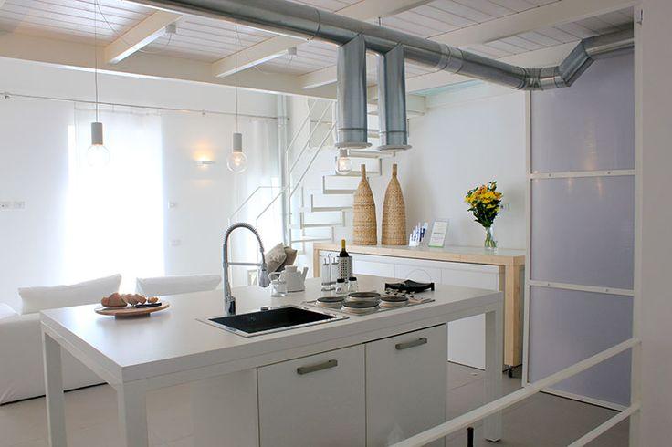 """Loft """"Archimede"""", soggiorno/cucina - Loft """"Archimede"""", living-room/kitchen"""