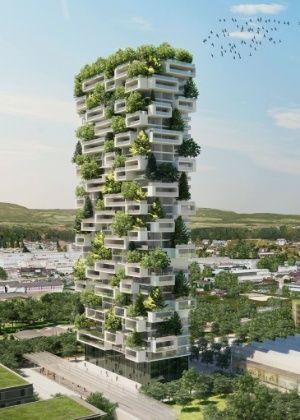 Floresta vertical: prédio residencial terá mais de cem árvores nas fachadas…