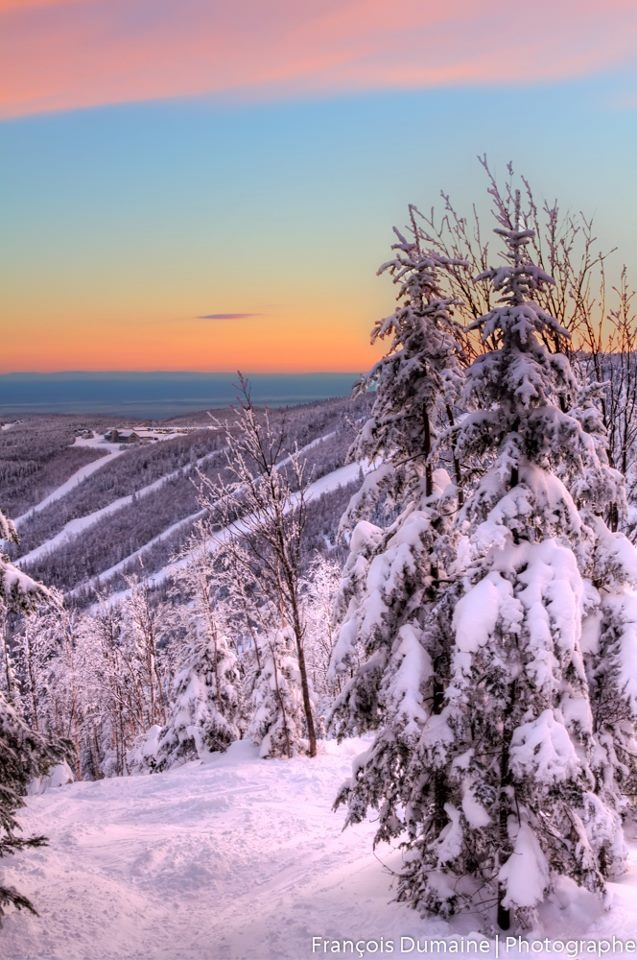 Le Massif de Charlevoix near #Quebec city.  If you love skiing, this place is a must for its terrain and scenery! |Pinned from PinTo for iPad|