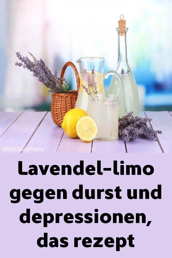 Lavendel-limo gegen durst und depressionen, das re…