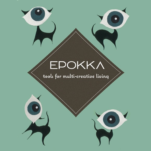 We decided that we needed a bunch of cool cats for EPOKKA and here they are. Just like all multi-creative people, they are playful and very very curious.