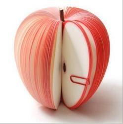 Karteczki w kształcie owoców 3D 100 kartek biuro