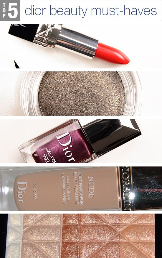 5 Dior Beauty Must Haves Beauty News Us And Home Decor