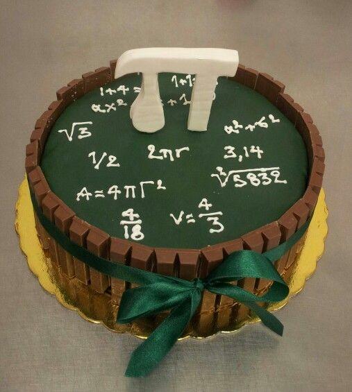 Maths cake . P