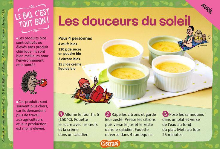 Les douceurs du soleil : une recette facile pour les enfants de 7 à 11 ans avec…