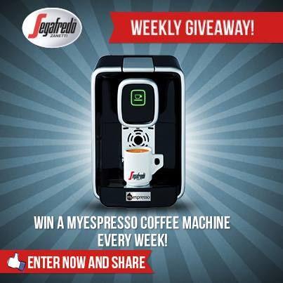 Win a #MyEspresso Coffee machine! Enter at www.segafredo.com.au/win