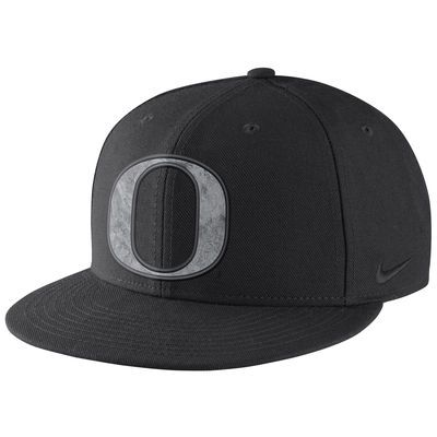 Oregon Ducks Nike Football Past Energy True Snapback Adjustable Hat - Black