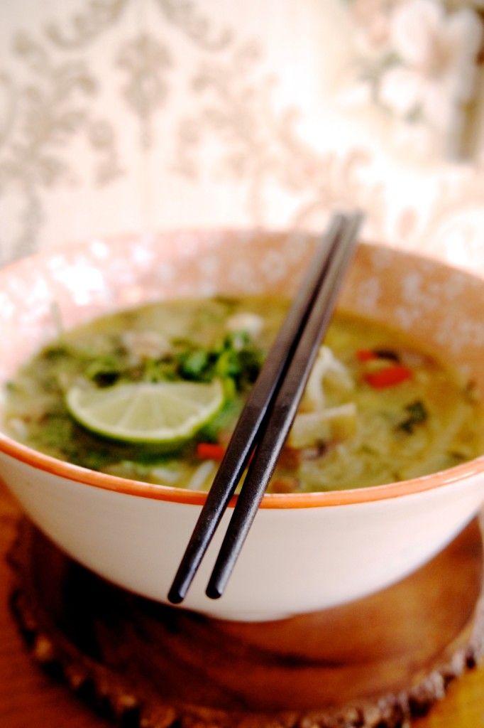 Groen zonder poen: Thaise kokossoep