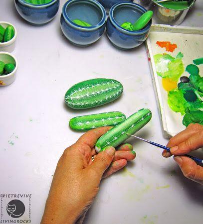 Sassi a p-arte: cactus