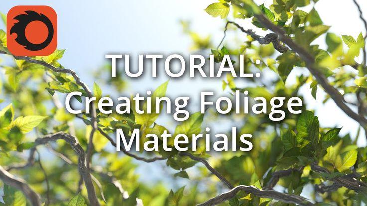(Corona 1.3) Tutorial: Creating Foliage Materials