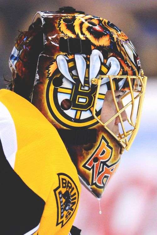 Tuukka Rask has the best mask currently in the NHL
