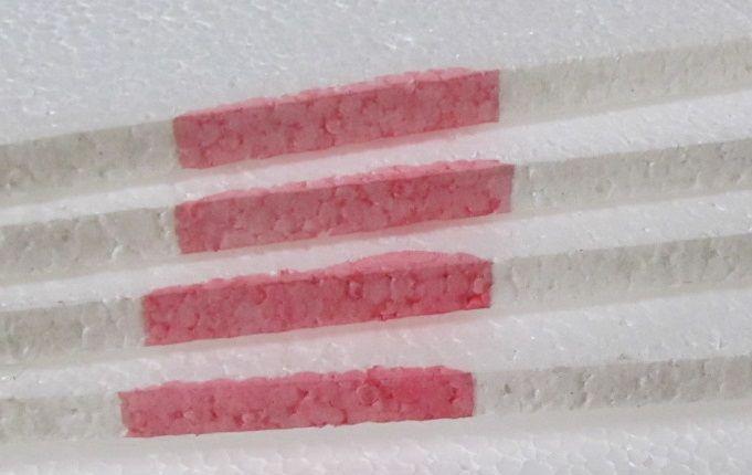 1 cm-es polisztirol lap