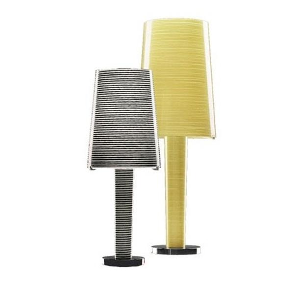 Lámpara  para la sobremesa con diseño Italiano de lineas modernas de la marca foscarini.