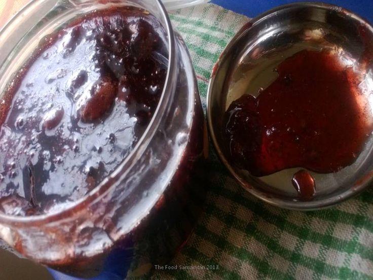 Tastiest and easiest Black Pepper Strawberry Jam..follow the link here: http://thefoodsamaritan.com/tastiest-and-easiest-black-pepper-strawberry-jam/