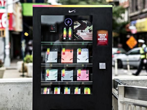 Nike's Secret New York Vending Machine Trades Free Swag For FuelBand Points