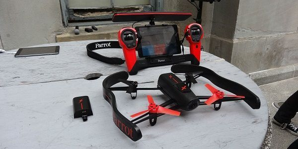 Bebop Parrot Drone  For more information about phantom drones and other types of drones, check our site