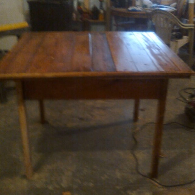 Handmade Pallet Dining Room Table! Just For Me!