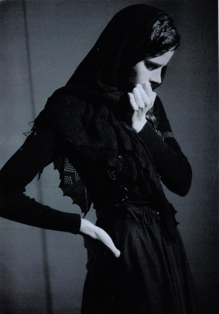 photographed by Paolo Roversi - Marie Claire: Fall 1990 - Pasionaria