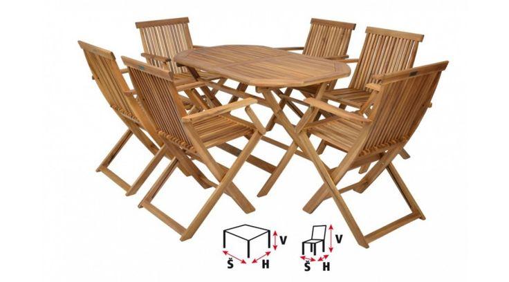 Ha javul az idő, irány a kert! Addig is étkedet a teraszra tedd! :D  Basic Szett 4 vagy 6 személyes favázas ülőgarnitúra  Kemény akác fából készült, luxus kivitelben, négy székből és egy asztalból álló kerti bútor szett. Használható kerti fedett helyeken és beltérben. Megfelelő teakfa olaj kezeléssel külső helyeken is használható. A fa természetes anyag. Az ábrázolástól eltérő szín a fa természetes tulajdonságaiból adódik. Szék terhelhetősége: 160kg.