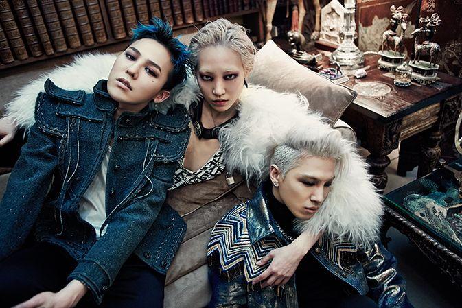 Photo of the Day: G Dragon, Soo Joo & Taeyang in Chanel image G Dragon 2014 Chanel Photo