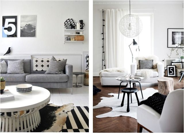 Ideas Cosy Scandi Sitting Room