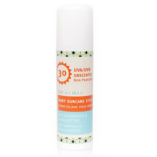 Matter Company Baby Suncare Stick SPF 30. 20% Zinc Oxide. Fragrance-free. Available @ Well.ca #fragrancefree #unscented #scentfree