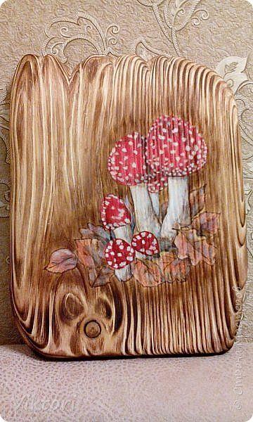 Декор предметов Декупаж Покорение браша Дерево фото 1