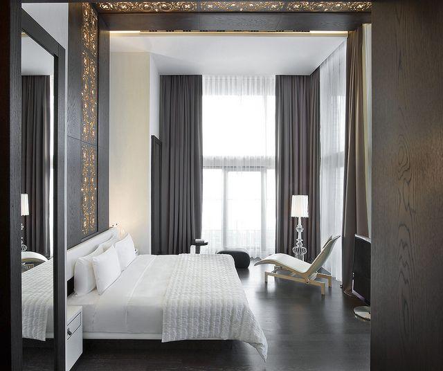 Masculine & Luxury Décor! Le Méridien Istanbul Etiler—Presidential Suite Bedroom Room