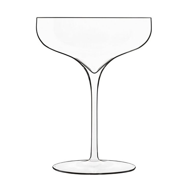 Luigi Bormioli Vinea Coupe Moscato/Spumante Wine Glass - Set of 2 - 11899.02