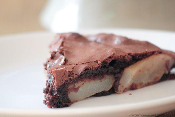 Bake: Swedish Pear and Chocolate Cake