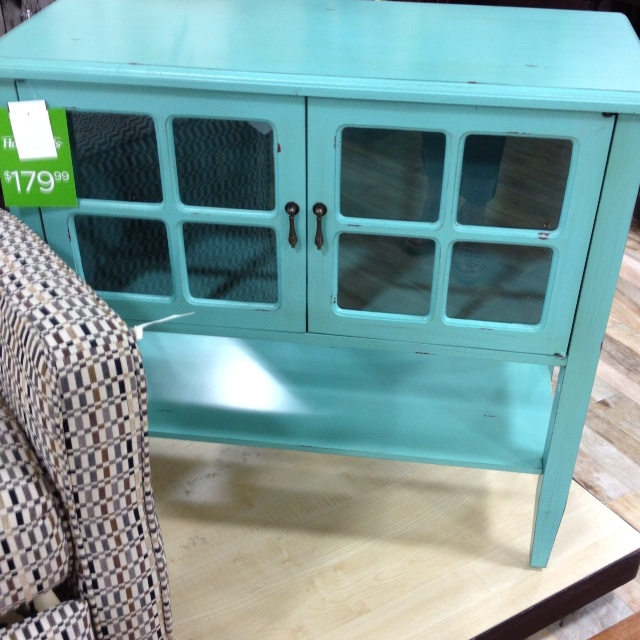 Entry Way Table  Home Goods/ So Beautiful And The Color Is Amazing!